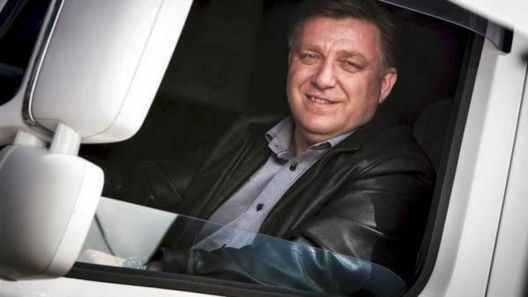 Norges Lastebileier-Forbunds leder, Geir A. Mo, mener Statens vegvesen feilaktig stempler mange norske lastebileiere som bomsnikere.