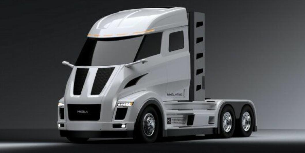 Nikola Motor Company forventer at Nikola Two, som har førerhus uten sovedel, skal være i salg i USA i 2021.