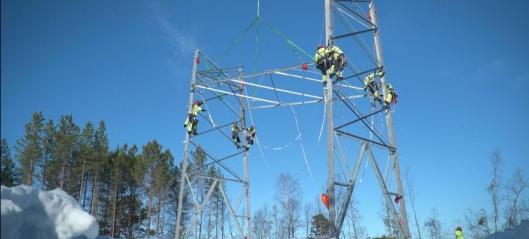 Strømnettutbygging gir lokale ringvirkninger