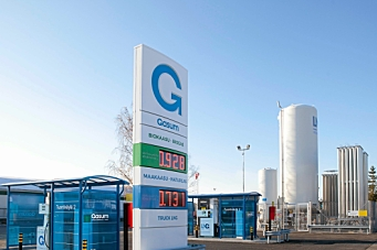 Bygger ut gass-stasjoner