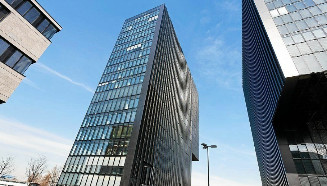 KONTORET: Powels nye base i Düsseldorf.