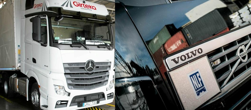 ENIGE: Det har ikke alltid vært slik at Girteka og Norges Lastebileier-Forbund er enige i samme sak.