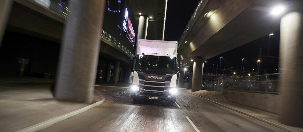 NY SERIE: Scania lanserer nå L-serien med lavere innsteg.