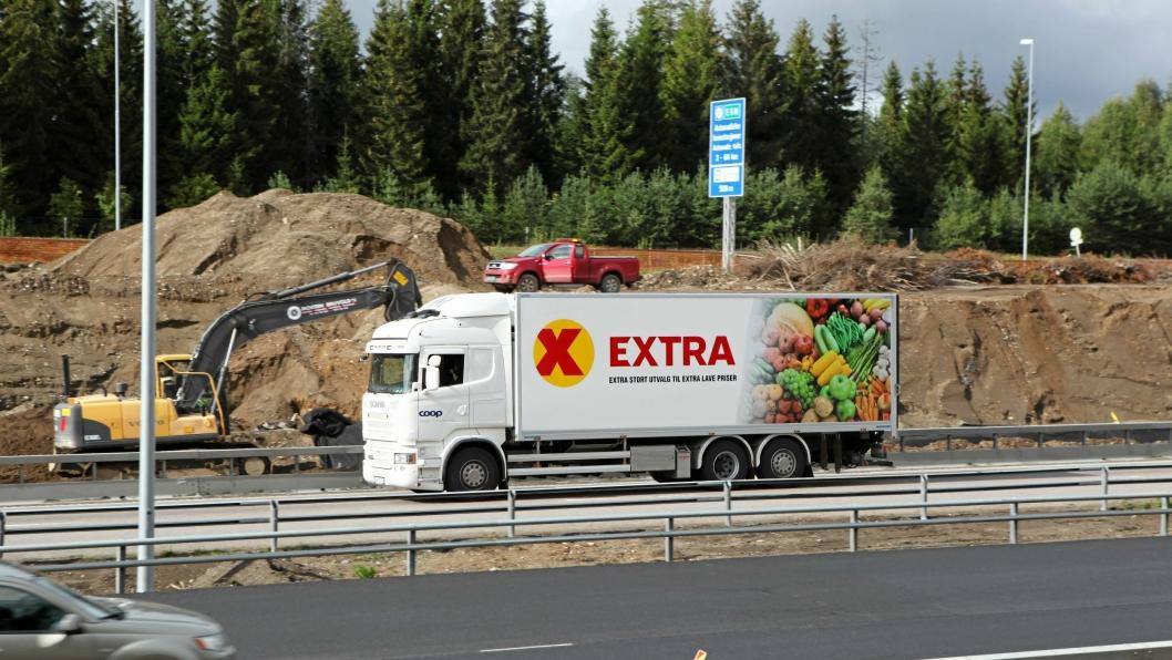 Illustrasjonsbilde. Det er ikke målt kun på Coops tomkjøring. Tallene gjelder hele den norskregistrerte transportbransjen.