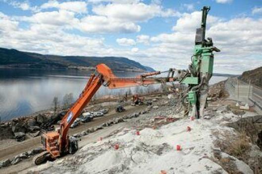 Arbeid i berg er en stor del av jobbene Hæhre tradisjonelt har tatt på seg.