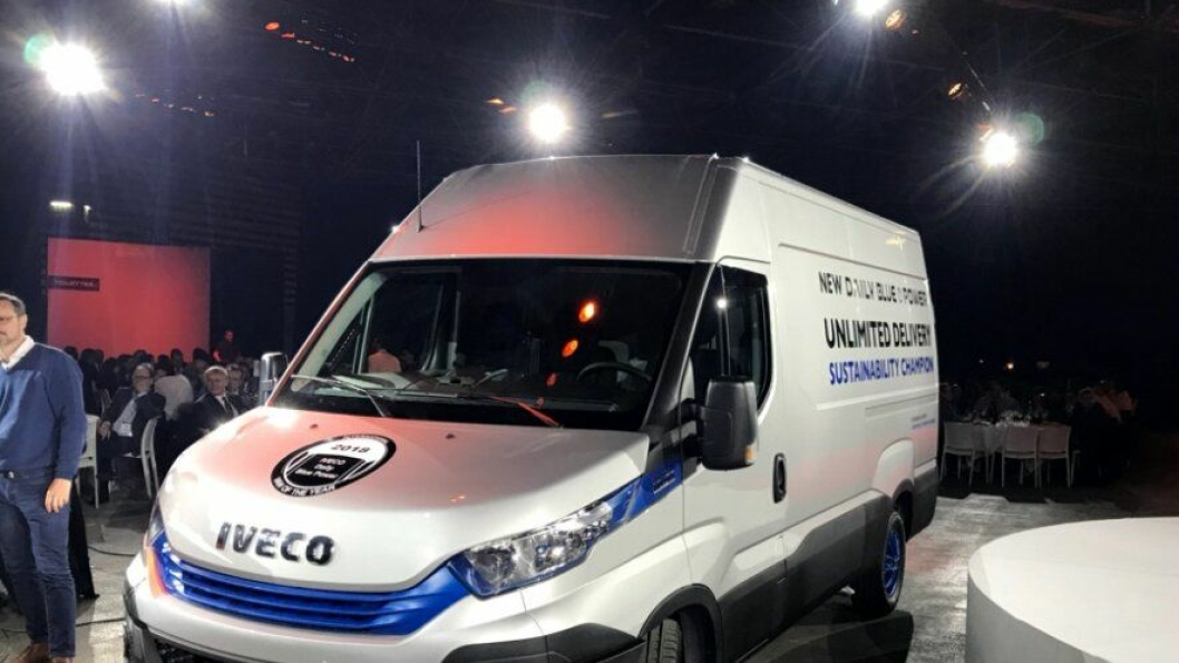 Iveco Daily Blue Power er International Van of the Year 2018.