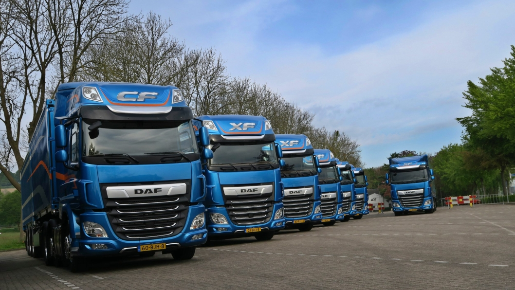 DAFs nye CF- og XF-serie er International Truck og the Year 2018.