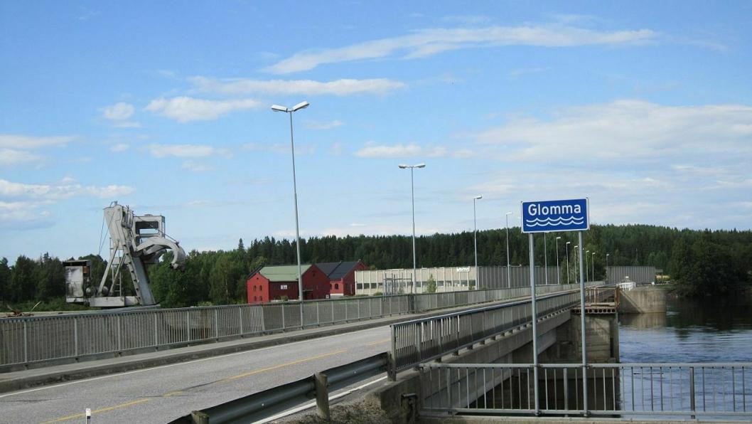 Illustrasjonsbilde fra fylkesvei 482 Funnefoss bru.