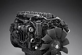 Ny Scania gassmotor