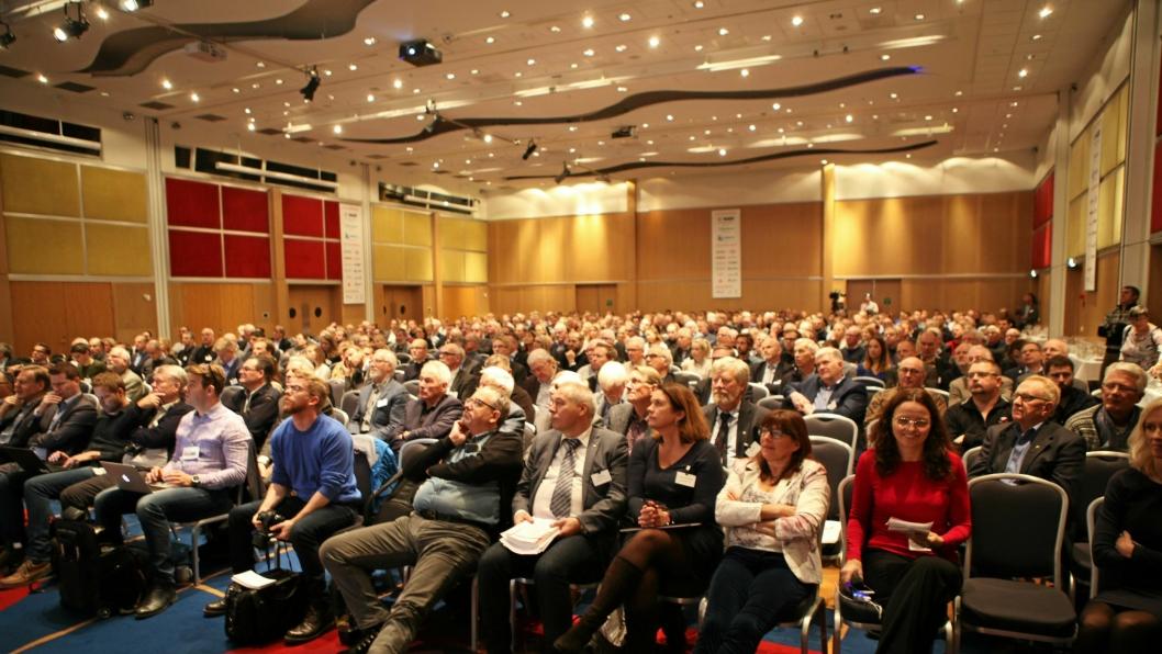 Tilhørere på Fjellsprengningskonferansen i Oslo 24. til 25. november 2016. Nå er det snart tid for ny faglig input - 23.-24. november 2017.