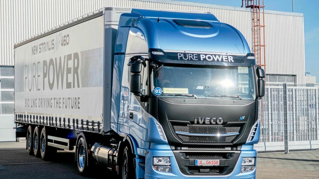 Iveco har begynt å levere en 13-liters gassmotor på 460 hestekrefter og 2000 Nm.