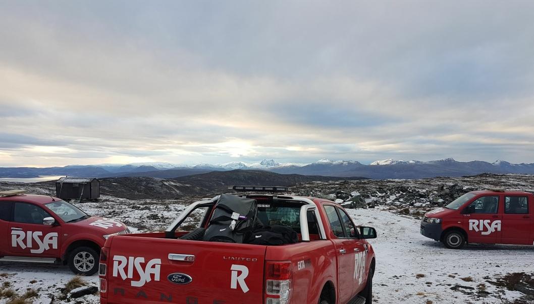 Risa på Kvitfjell i Troms.