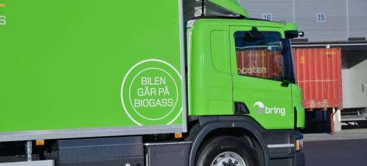 Støtte til kjøp av lastebiler og anleggsmaskiner