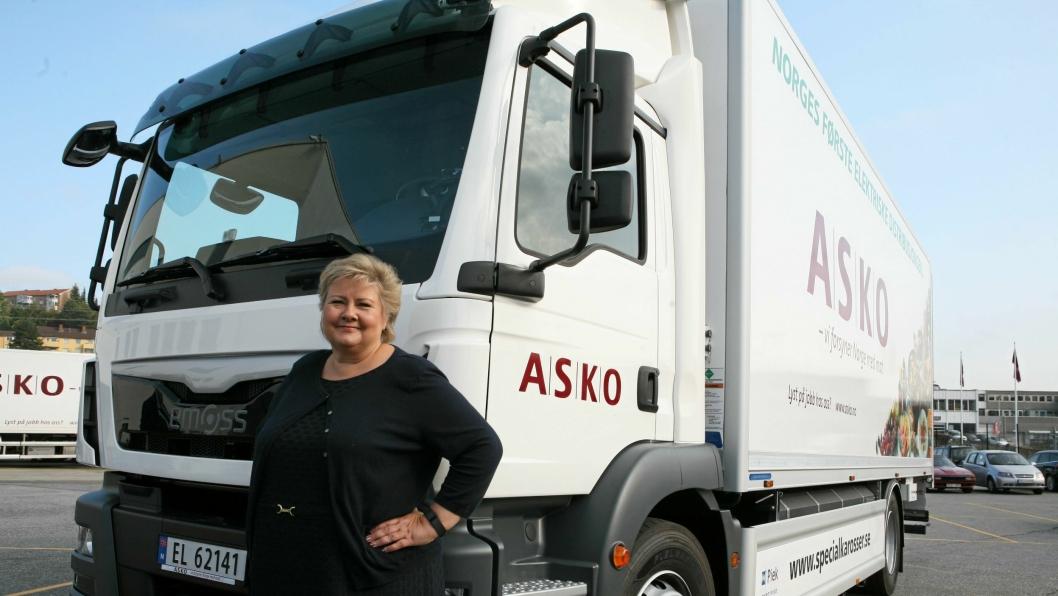 Erna Solbergs nye trepartiregjering lover store forbedringer innen transport og samferdsel. Foto: Per Dagfinn Wolden