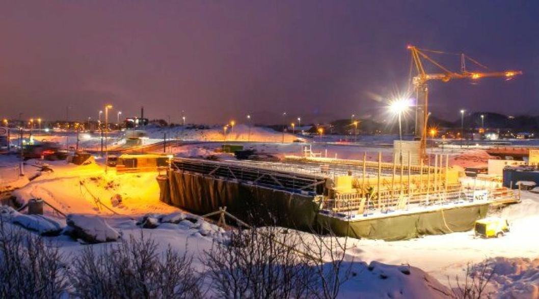 Nå blir det snart anleggsaktivitet ved Bodøelv igjen. Foto: Statens vegvesen