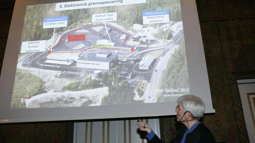 Avd. leder Hanne Solgaard Andersen i Tollregion Øst-Norge snakker om en ny toll-verden. Foto: Per Dagfinn Wolden