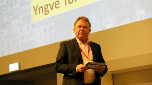 DAGLIG LEDER: Yngve Torkildsen, daglig leder i Norsk Utleieforening, sier anleggsnæringen har «reddet» utleiebransjen nå som bygg har hatt en reduksjon. Foto: Klaus Eriksen