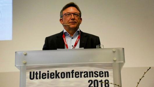OPP OG FREM: Jostein Stormo i UCO sier en nøkkel for bransjen er å være oppdatert på den teknologiske utviklingen. Foto: Klaus Eriksen