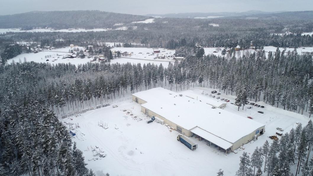 Trux skal flytte fra Ljusdal (Sverige) til nye lokaler i Färila i Sverige.