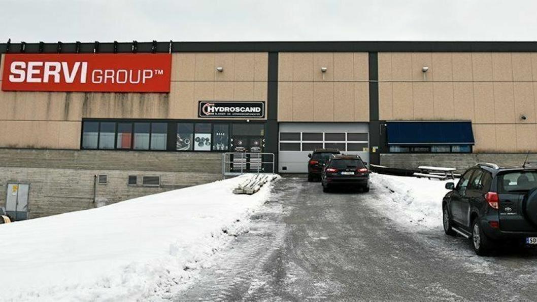ROMSLIG: Hydroscand er på hugget. Nylig åpnet selskapet en ny butikk på 216 m2 i Ski.
