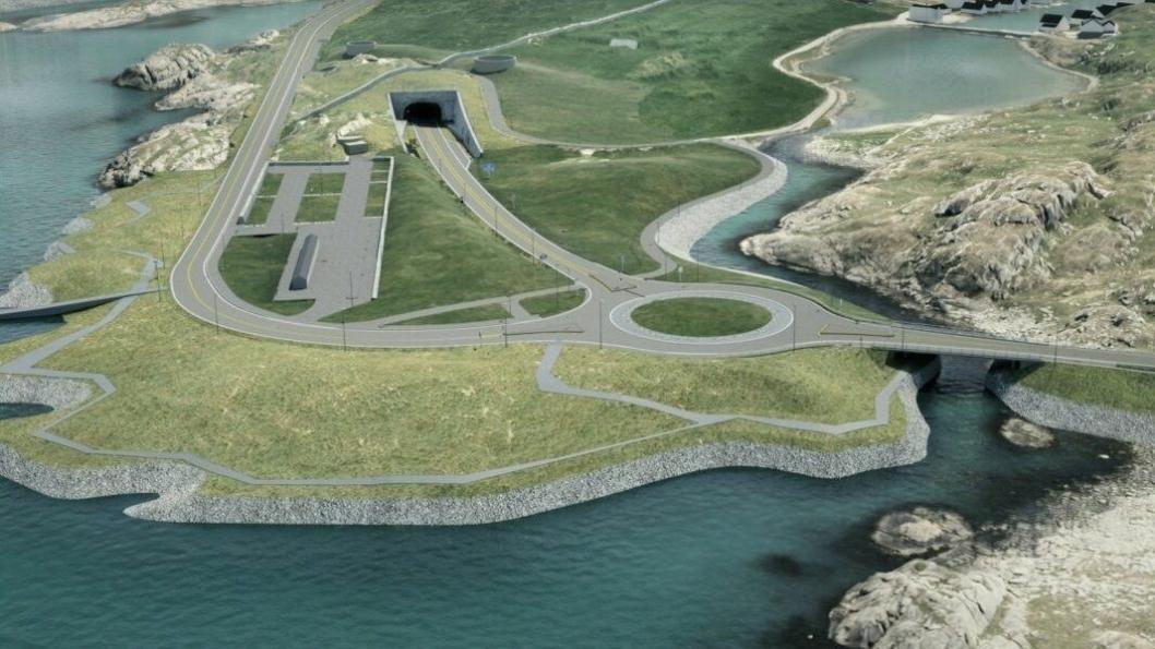 BRUKER SYSTEMET: Tunnel-prosjektet E39 Rogfast prosjekteres modellbasert ved hjelp av Gemini Terreng fra Powel Construction. Nå kommer versjon 13. av systemet.