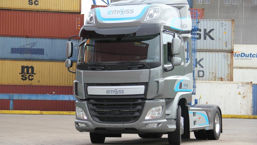 Emoss' trekkvogn skal testes av kunder i 2018.