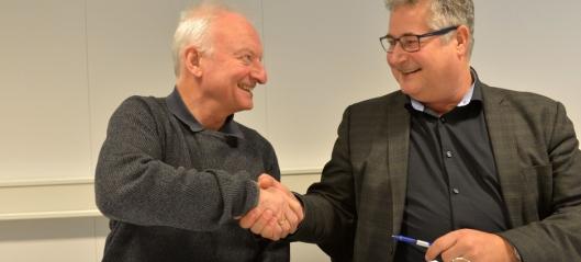Andre Rogfast-kontrakt signert