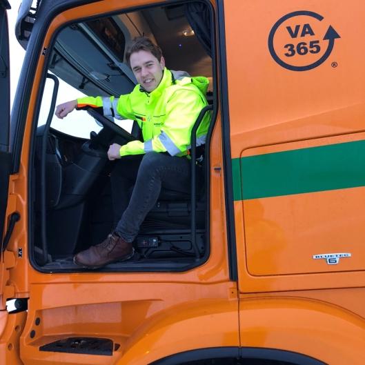 Daglig leder i Arnkværn Miljø og Renovasjon Oslo AS, Christian Persson.