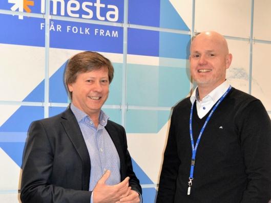 Fra venstre: Rune Kilstad (Evry) og Runar Nilssen (Mesta).