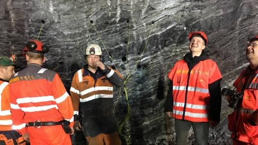 Ketil Solvik-Olsen har «business as usual» og er på flere anleggs/bedriftsbesøk i Oppland 19. mars.