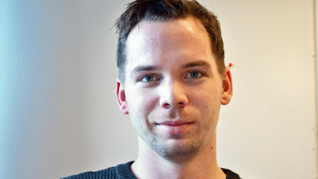 Amund Homble Viken (27) er ansatt som selger i Hesselberg Maskin.