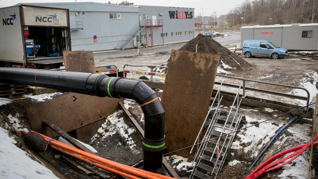 Rehabiliteringen av vann- og avløp i Asker kommune blir utført ved kombinert bruk av tradisjonell graving og No Dig-metoder, der en ikke trenger å grave for å gjøre jobben.