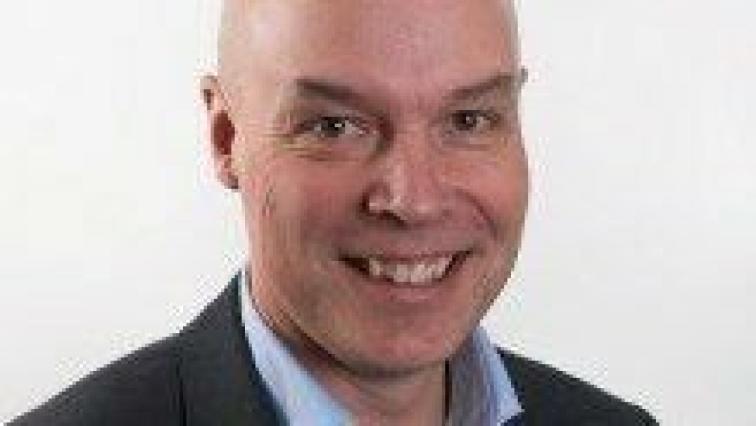 Richard Aulin, ny global salgssjef i Steelwrist i Sverige fra 2. kvartal 2018.