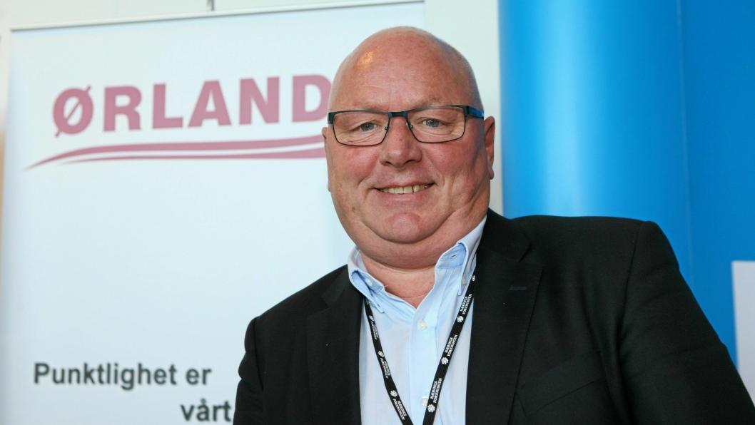 Daglig leder Kjell Haugland i Ørland Transport AS i Sandnes har bidratt til å etablere en slagkraftig transportaktør i Sør-Norge. Foto: Per Dagfinn Wolden