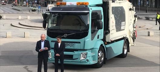 Her er Volvos første elektriske lastebil