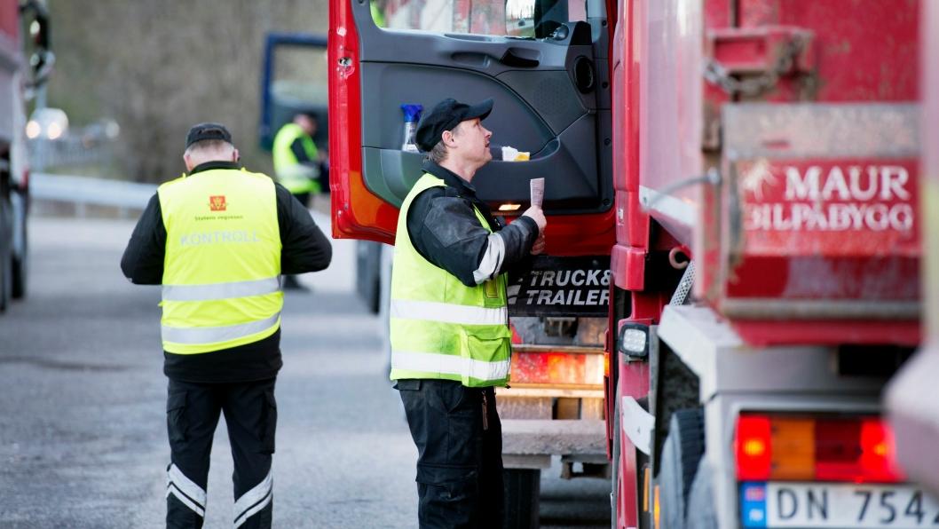Statens vegvesen sender ut 230 personer skal stoppe og intervjue sjåførene på «alle tunge kjøretøy» til og fra Vestlandet onsdag 18. og torsdag 19. april 2018.