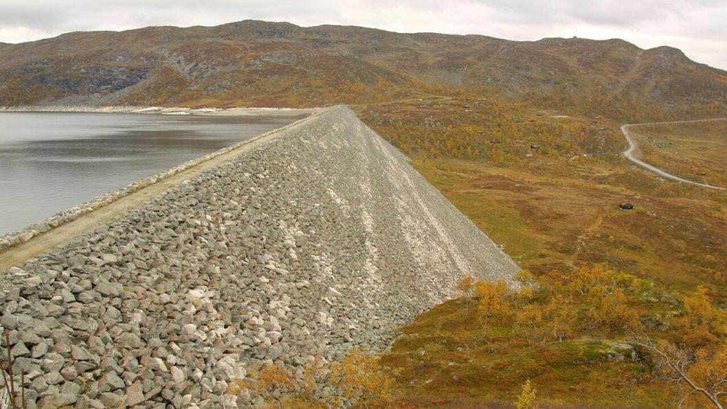 Storlia kraftverk skal utnytte 75 meter høydeforskjell mellom Bjoreio og Sysenvatnet.