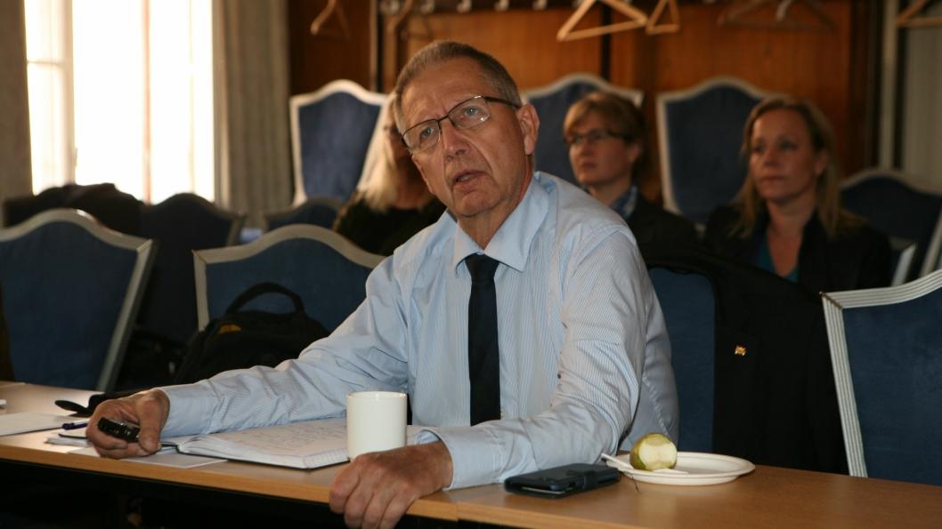 Lederen for landets største samferdselsorganisasjon, vegdirektør Terje Moe Gustavsen, er optimist for fremtiden. Foto: Per Dagfinn Wolden