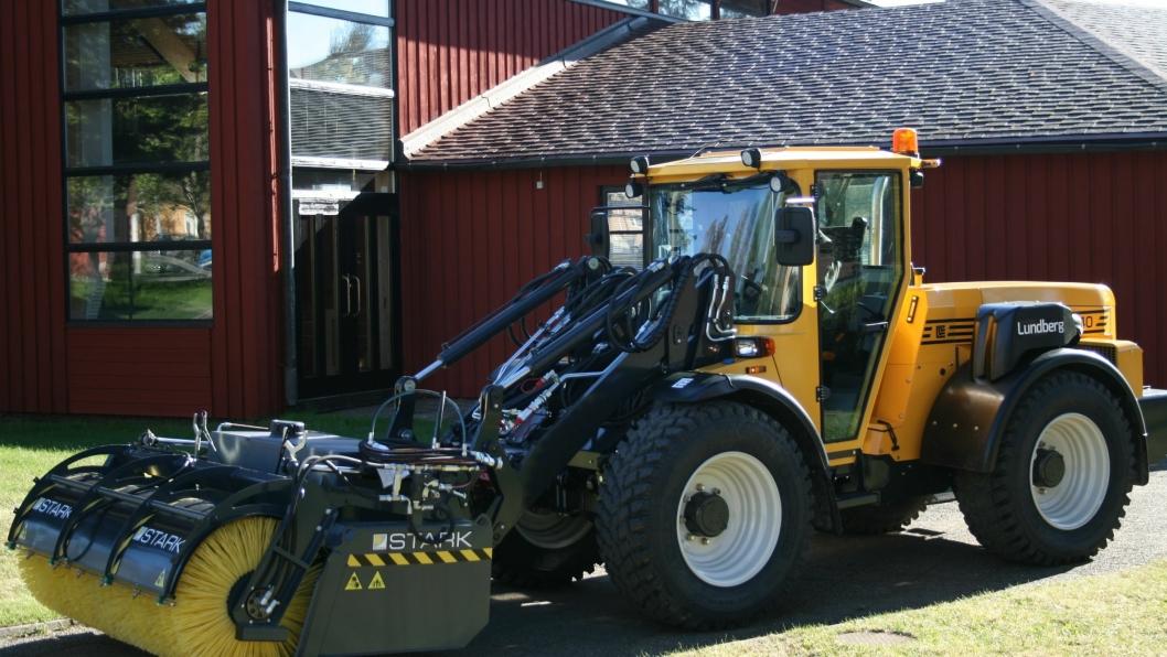 Sandhaug AS har nå overtatt Lundberg-importen til Norge fra Volvo Maskin.