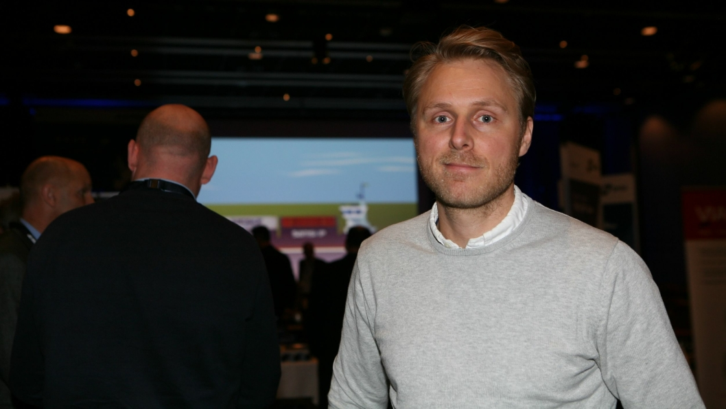 Vi møtte Intercargo-sjef Chris Lyman på Logistikkdagen i Sarpsborg nylig. Foto: Per Dagfinn Wolden