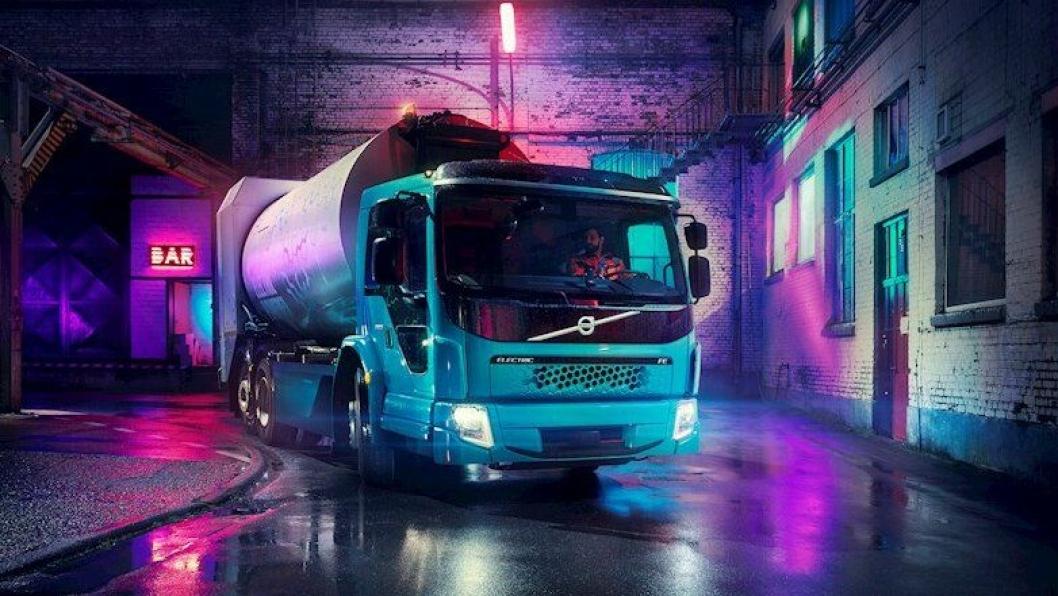 Volvo FE Electric.