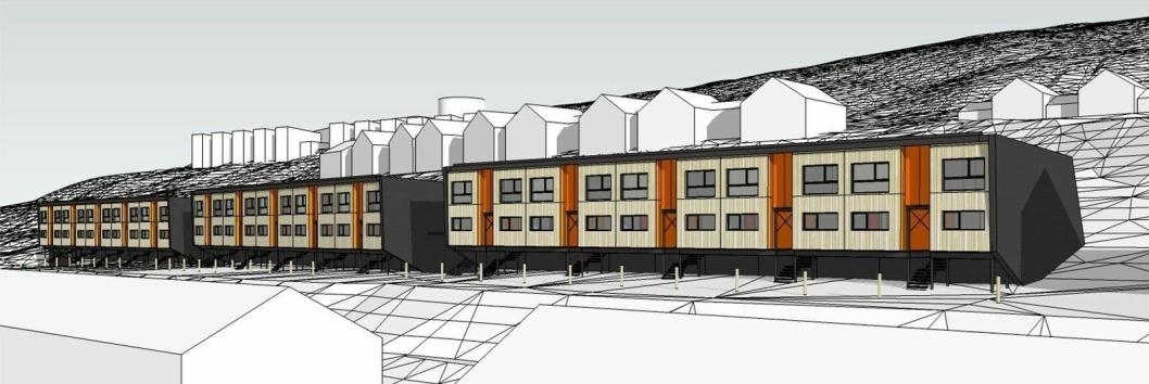 Slik skal de nye boligene i Gruvedalen bli.