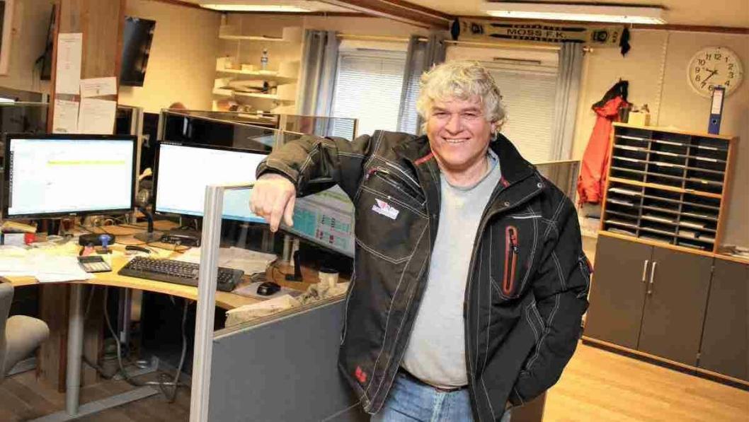 Morten Nore leder et transportselskap med 20 ansatte i administrasjonen og 120 biler på veiene.