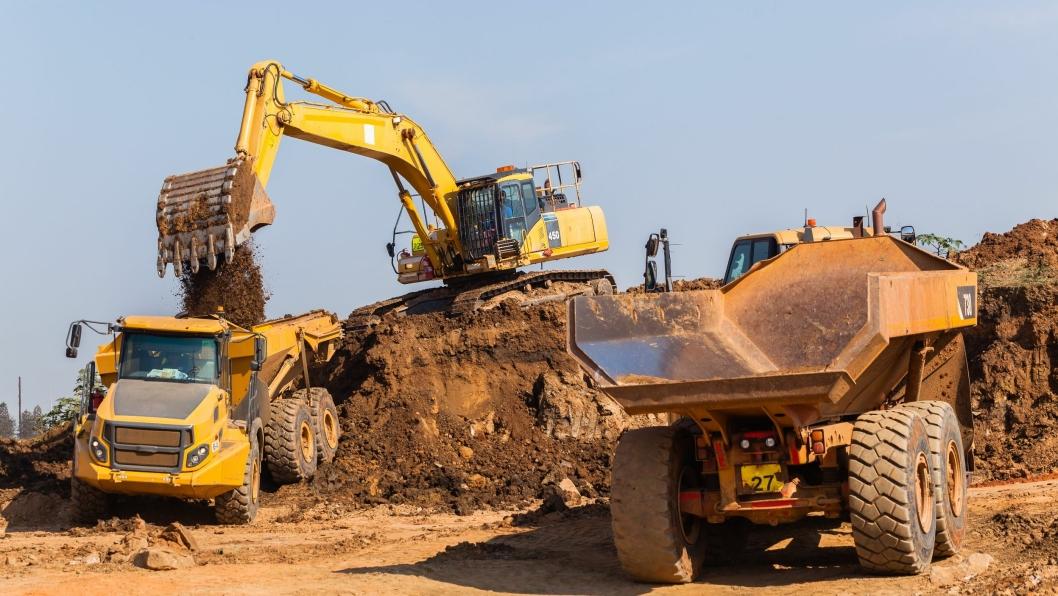 Flere aktører i anlegg- og transportbransjen har valgt å utstyre sin maskinpark med sporingsenheter.