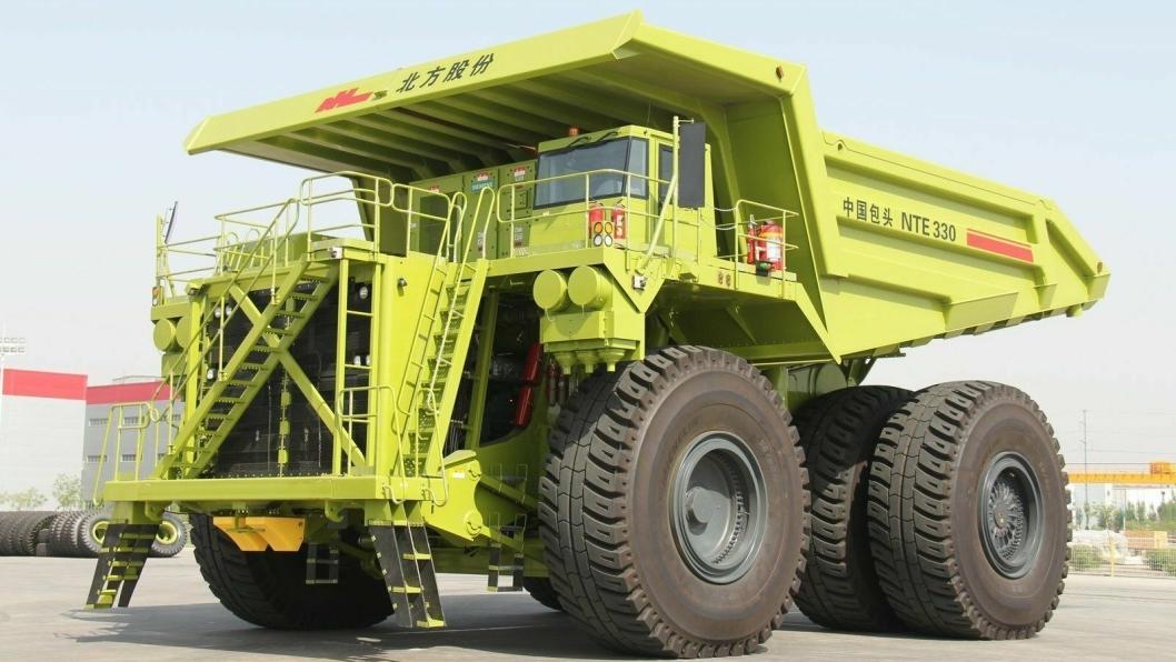 Inner Mongolia North Hauler Joint Stock Co. Ltd. bygger blant annet tipptrucker.