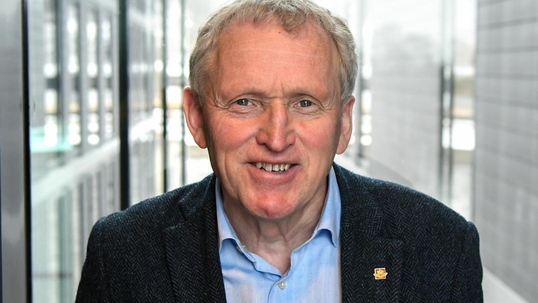 Torbjørn Naimak, regionvegsjef i Region nord i Statens vegvesen, har ledet utredningsarbeidet.