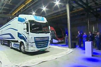 DAF og VDL lanserte elektrisk lastebil