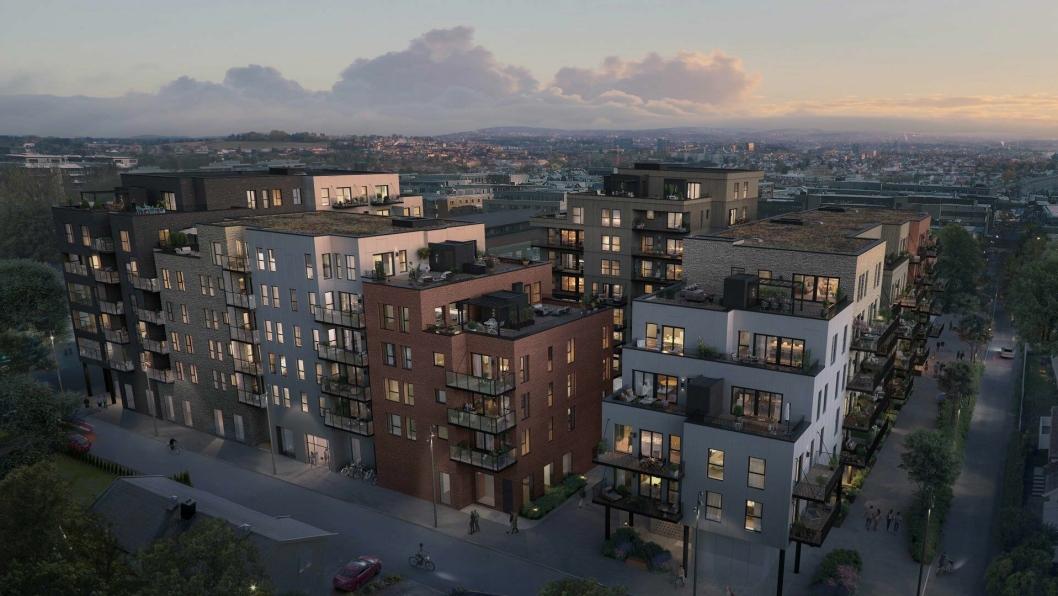 Skanska skal bygge Aveny Vest i Lillestrøm. Byggestart er planlagt første kvartal 2019.