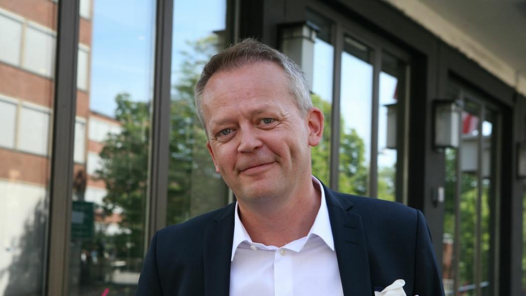 Schenker-sjef Knut Eriksmoen pusher grenser. I dag inviterer han til Schenker Forum med fokus på kunnskap, industriens logistikk og handelens krav til logistikk. Foto: Per Dagfinn Wolden