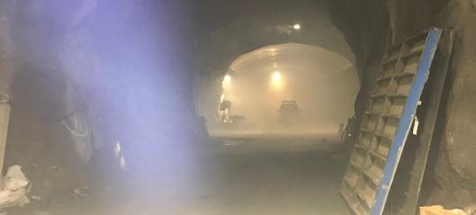 NCC evakuerte fjellhall
